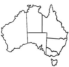 The-Map-of-Australia-and-Its-States-for-