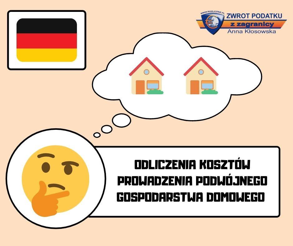 Odliczenia Kosztów Prowadzenia Podwójnego Gospodarstwa Domowego W Deklaracji Podatkowej W Niemczech