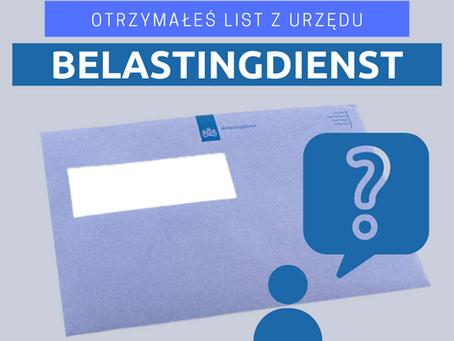 BELASTINGDIENST - pisma standardowe
