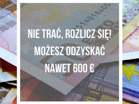 NIE TRAĆ 600 EURO I ROZLICZ SIĘ Z PODATKU ZA ROK 2019!