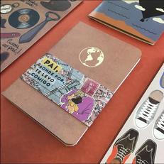 Caderneta de Dia dos Pais para Papel Craft