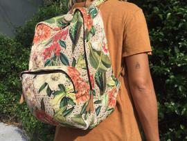 Mochila Floral Botânico para Papel Craft
