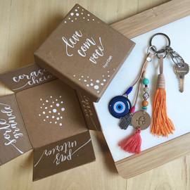 Presente de Natal para Papel Craft