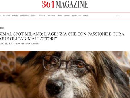 Articolo 361 Magazine - Animal Spot Milan