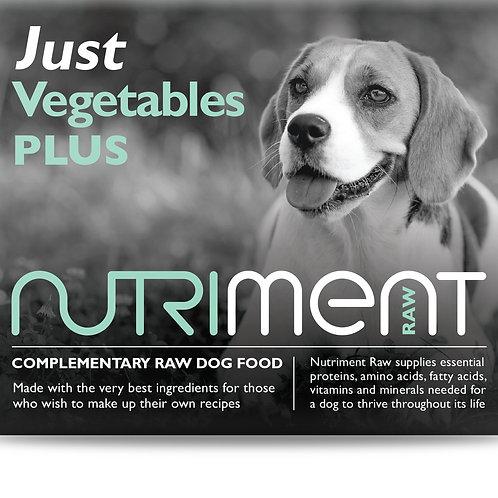 Just Vegetables PLUS