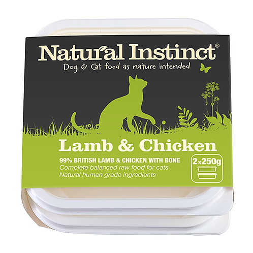 Cat Food Lamb and Chicken