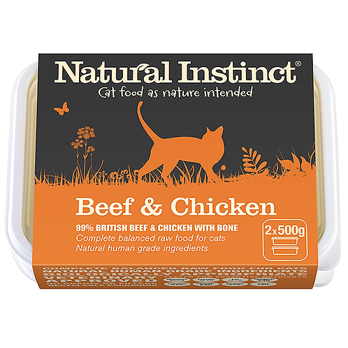 Cat Food Beef and Chicken