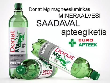 Donat Mg saadaval Euroapteegis