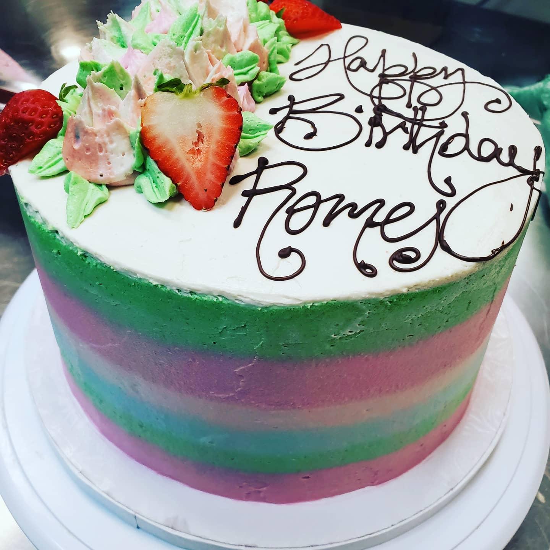 GK Birthday Cake