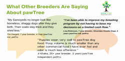 what pawTree breeders are saying