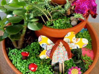How to make a Christmas fairy garden