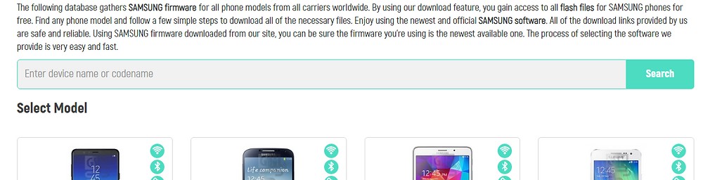 Imei info Firmware Download Page