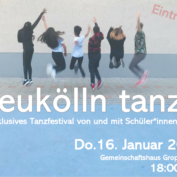 Presenting a choreography in Neukölln Tanzt!