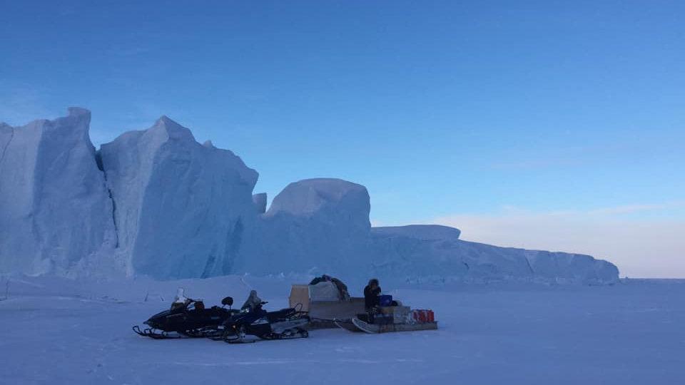 Iceberg Tour - Snowmobile