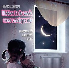 Affiche 'Midden in de week, maar zondags