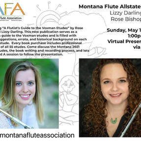 A Flutist's Guide to the Voxman Etudes presentation with the Montana Flute Association. May, 2021