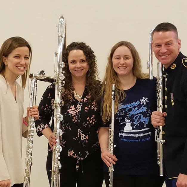 Flute Faculty at the Nauvoo Flute Day, January 2020