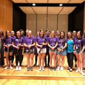 The Cornell College Summer Flute & Clarinet Camp. June, 2019
