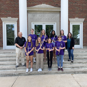 The Cornell Summer Flute & Clarinet Camp students. June, 2021