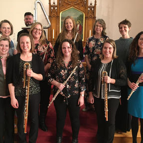Flute Faculty at the Central Iowa Flute Workshop. April, 2019