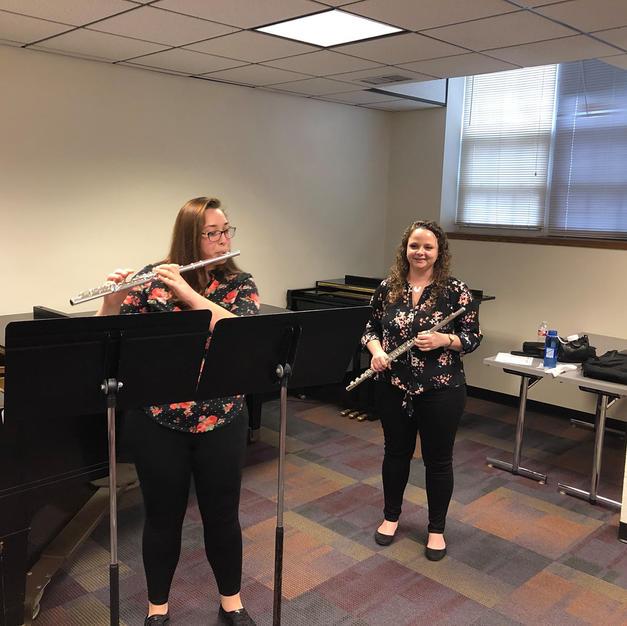 Teaching a masterclass at Kansas Wesleyan University. March, 2019