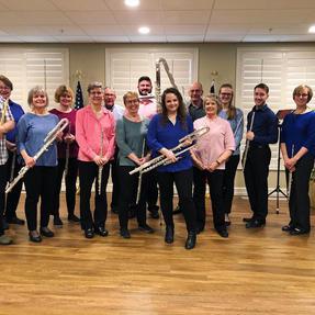 The Iowa City Flute Choir. May, 2019