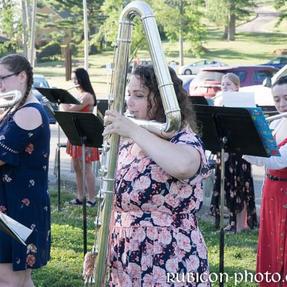 Cedar Rapids Area Youth Flute Ensemble Performance. June, 2021