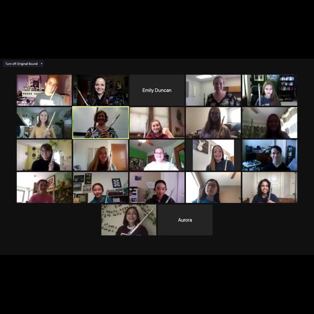 The 2020 Virtual Eastern Iowa Flute Workshop. September, 2020