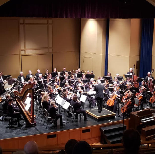 Principal Flute of the Southeast Iowa Symphony. March, 2019