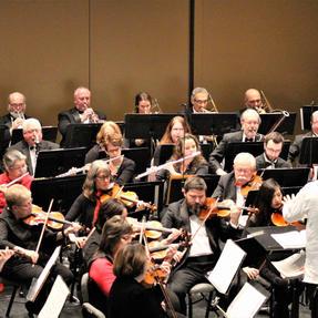 Principal Flute of the Southeast Iowa Symphony. December, 2019