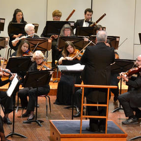 Performing with the Quincy Symphony. November, 2019