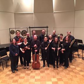 Durward Ensemble Residency at Illinois University. February, 2018