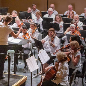 The first Southeast Iowa Symphony performance since March of 2020. July, 2021