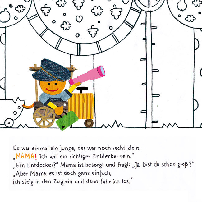 Grafik, Design, Tübingen, meinblick, Pietro Conte, Agentur, Hin und Her, Bilderbuch