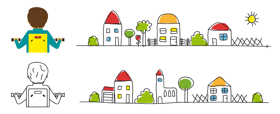 Grafik, Design, Tübingen, meinblick, Pietro Conte, Agentur, Einfach aufsteigen