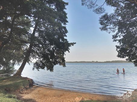 Torpedownia na jeziorze Miedwie