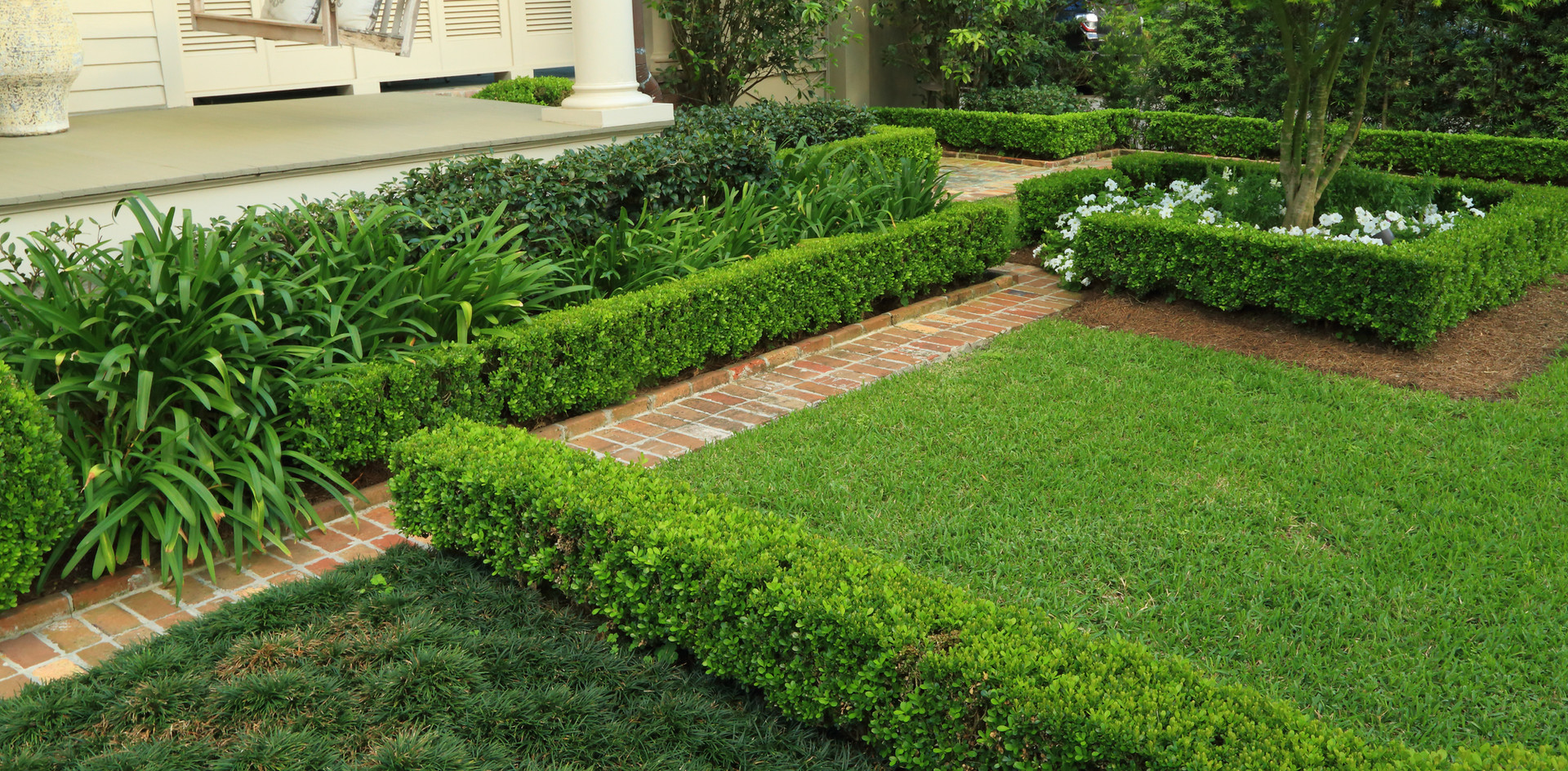 Yard Maintenance Pruning and Mowing