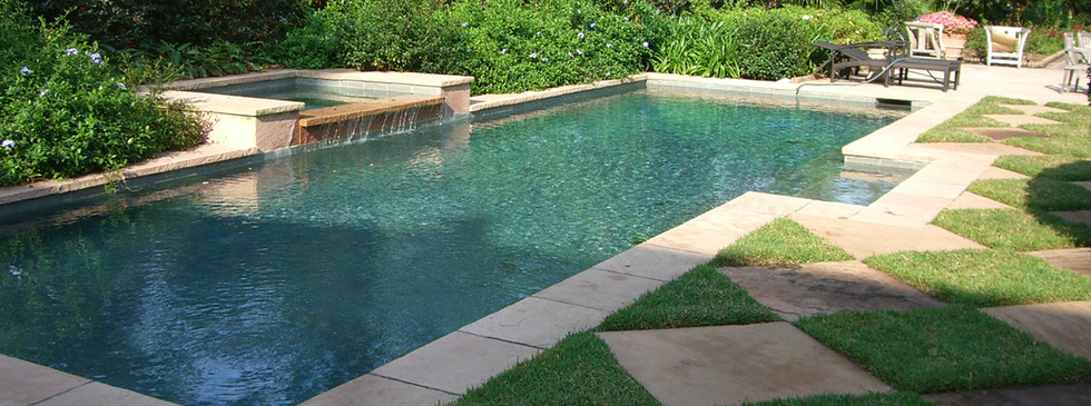 Poolside Landscaping and Hardscaping