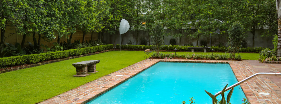 Backyard Pool Landscaping and Hardscaping