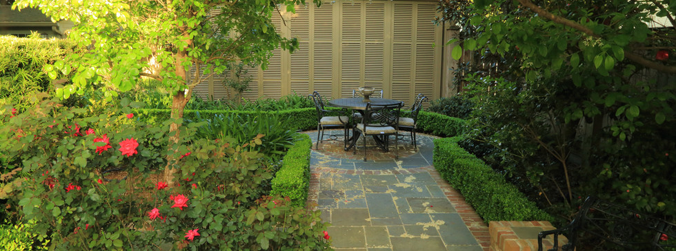 Brick and Flagstone Hardscaping and Landscape Planting Design