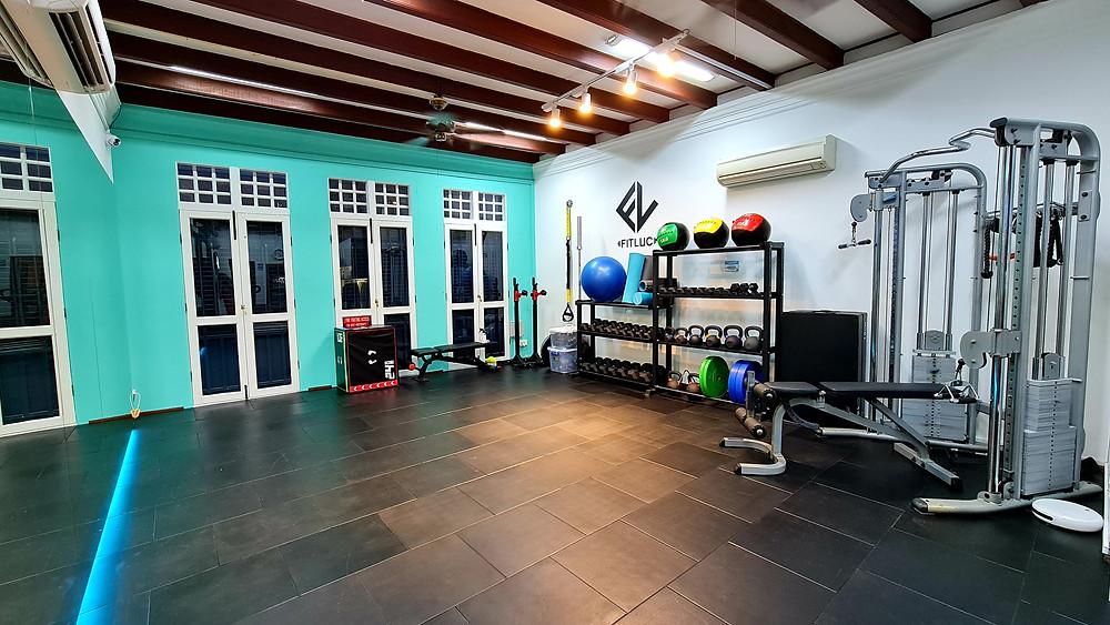 fitluc level 2 gym