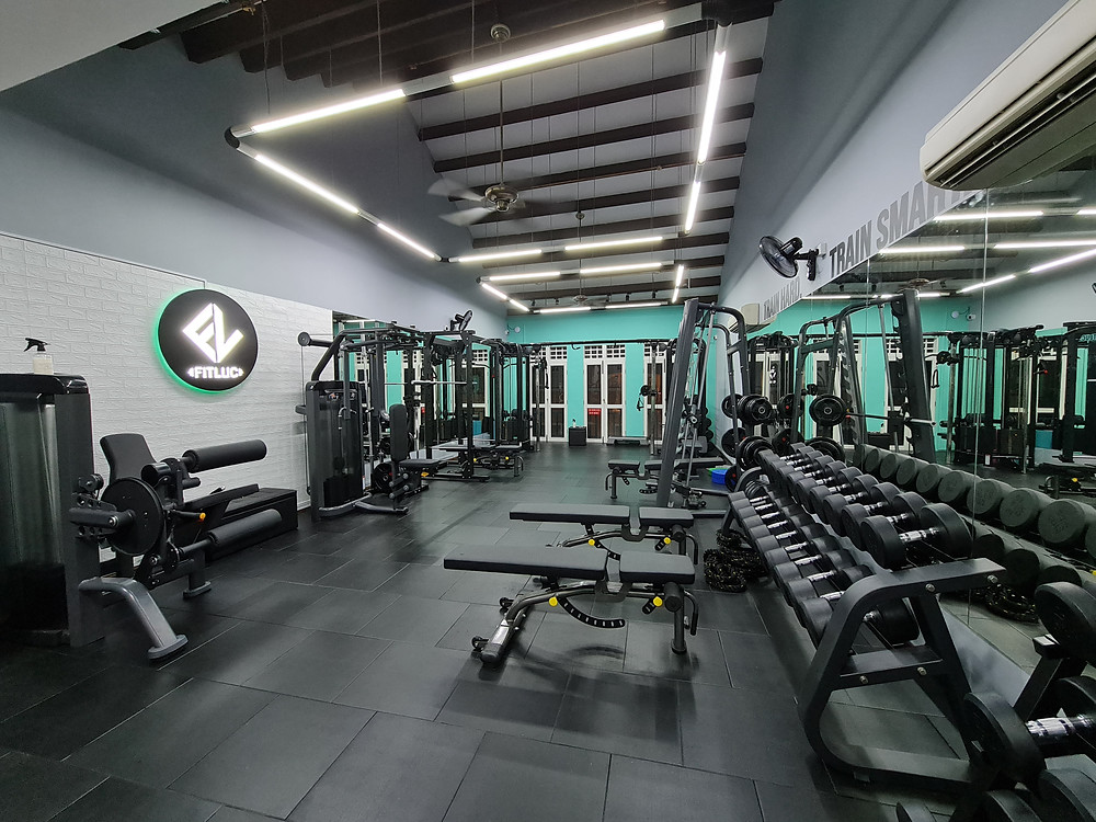 fitluc gym level 3