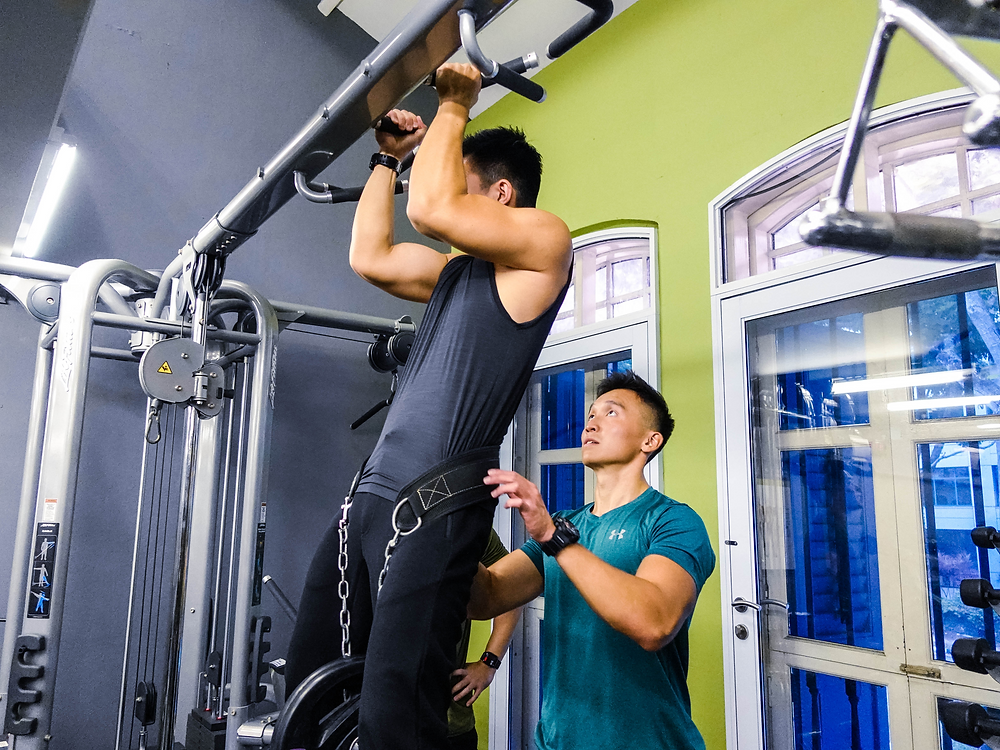 A good personal trainer can correct your form for each exercise