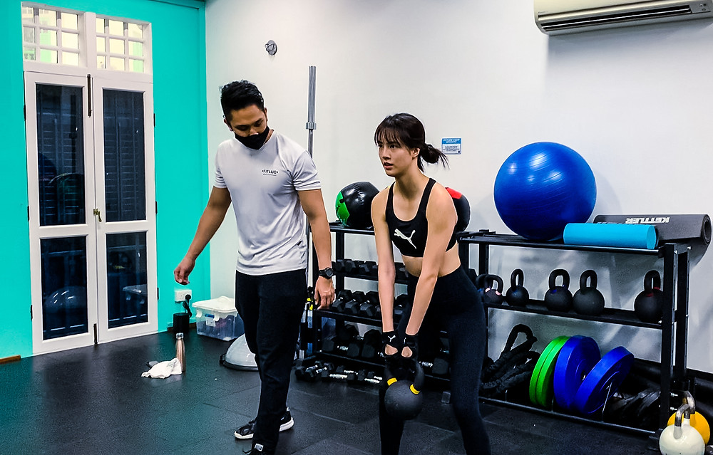 personal training gym singapore