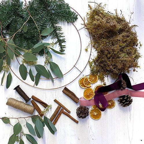 Premium Wreath Kit (foliage included)