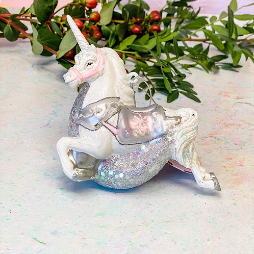 Sass & Belle My Little Unicorn Jumping Over the Moon Bauble