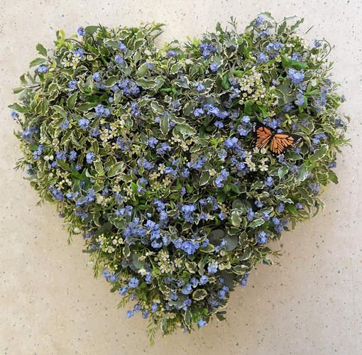 Seasonal Flower Heart - £85