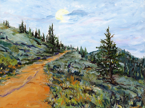 The Buttes Passage-print