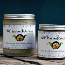 Wild Harvest Botanicals packaging