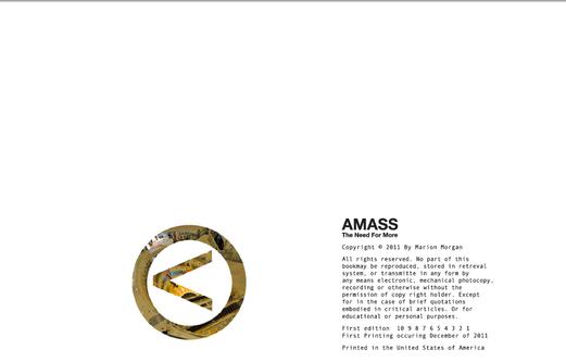 Amass Copywrite Page